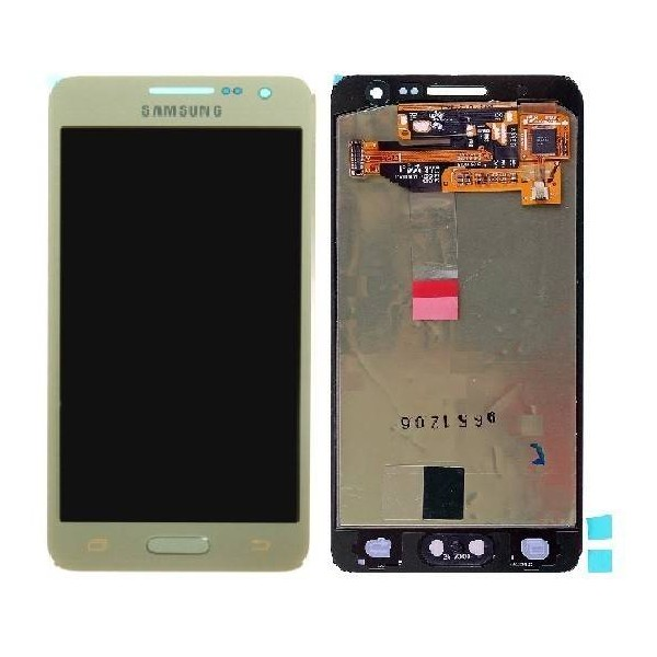 Samsung Galaxy A3 2015 SM-A300 LCD Screen and Digitizer Assembly - Gold - Original GH97-16747F