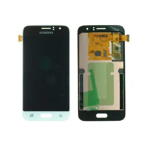 Samsung Galaxy J1 2016 SM-J120F LCD Screen and Digitizer Assembly - White