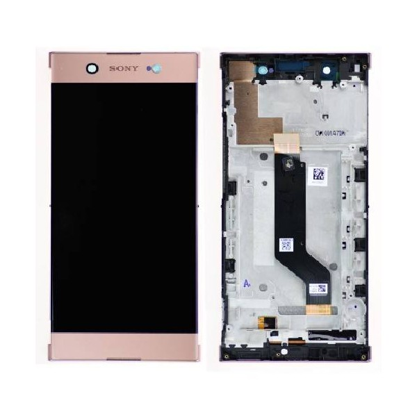 Sony Xperia XA1 Ultra LCD Screen and Digitizer Assembly with Frame - Pink - Original 78PB3400040