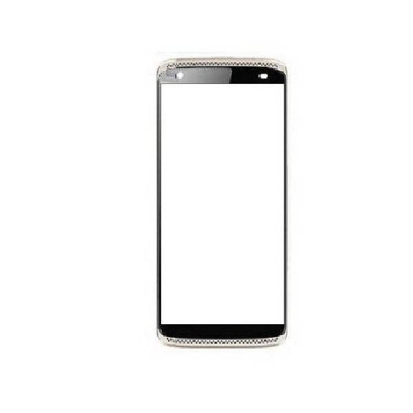 ZTE AXON MINI Front Glass - Silver