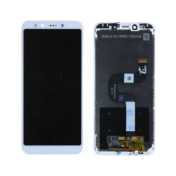 Xiaomi Mi A2 LCD Screen and Digitizer Assembly with Frame - White