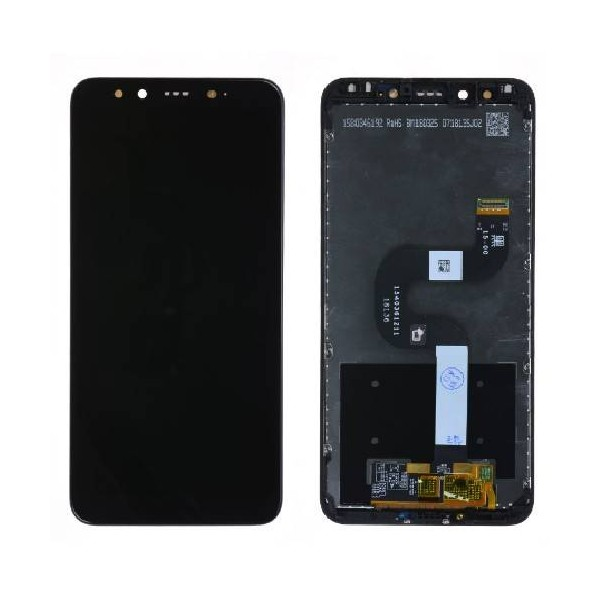 Xiaomi Mi A2 LCD Screen and Digitizer Assembly with Frame - Black