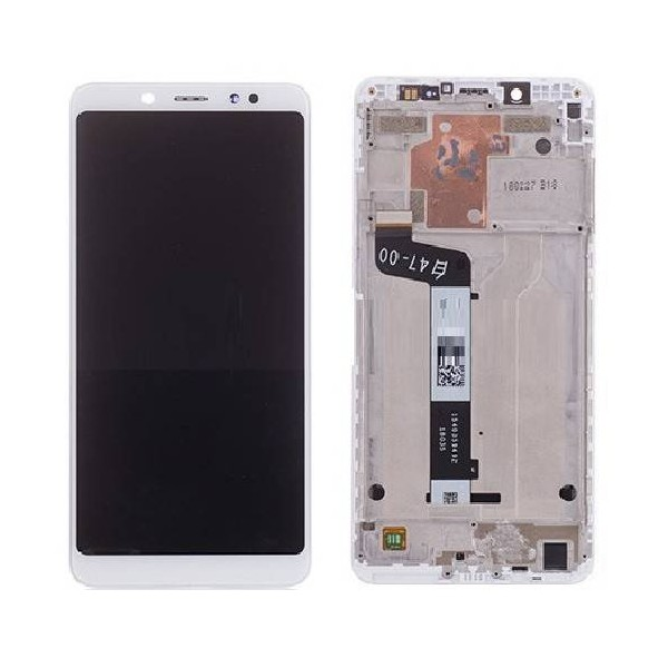 Xiaomi Redmi Note 5 Pro LCD Screen and Digitizer Assembly with Frame - White