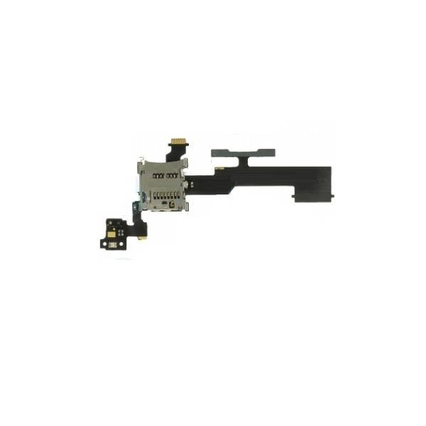HTC One M8 Micro SD Memory Card Reader / Volume Button Flex Cable