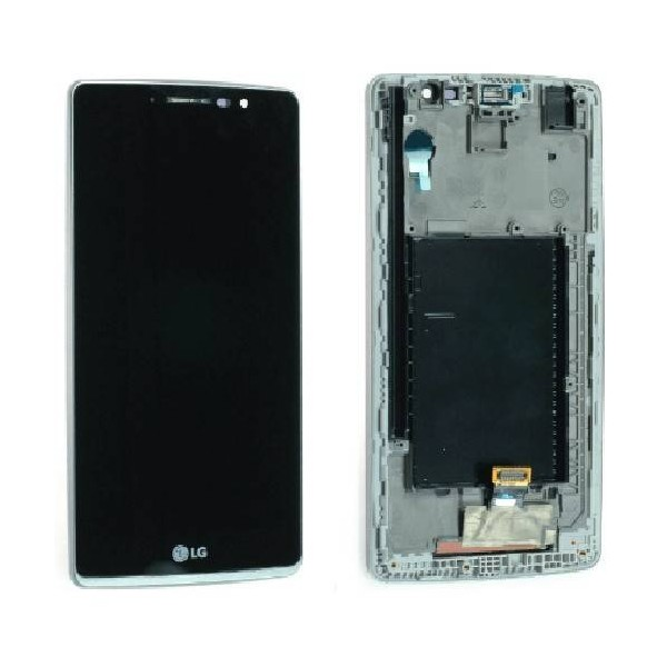 LG G4 Stylus H635 LCD Screen and Digitizer Assembly with Frame - Black