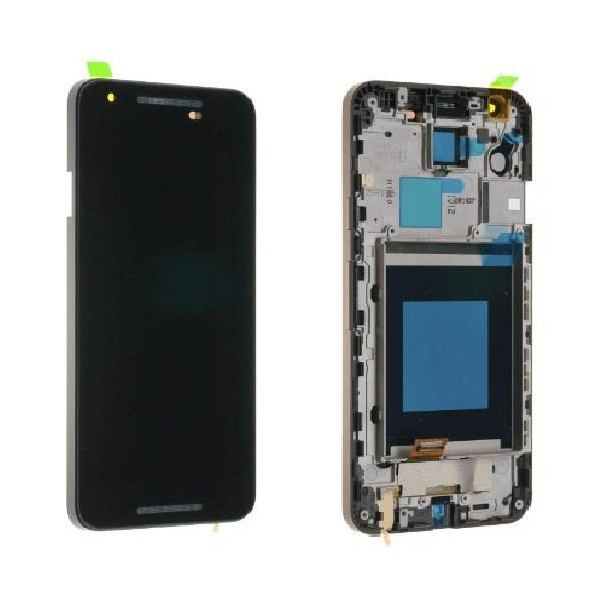 LG Nexus 5X H791 LCD Screen and Digitizer Assembly with Frame - Black