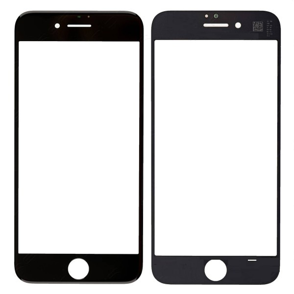 iPhone 8 Front Glass Lens - Black