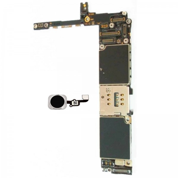 Motherboard Mainboard iPhone 6s Plus 128GB With Touch ID - Black (UNLOCKED)