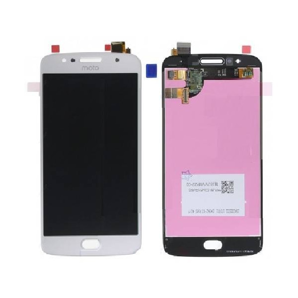 Moto G5s LCD Screen and Digitizer Assembly - White