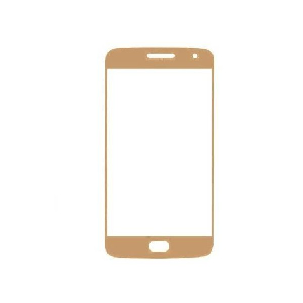 Moto G5s Front Glass - Gold