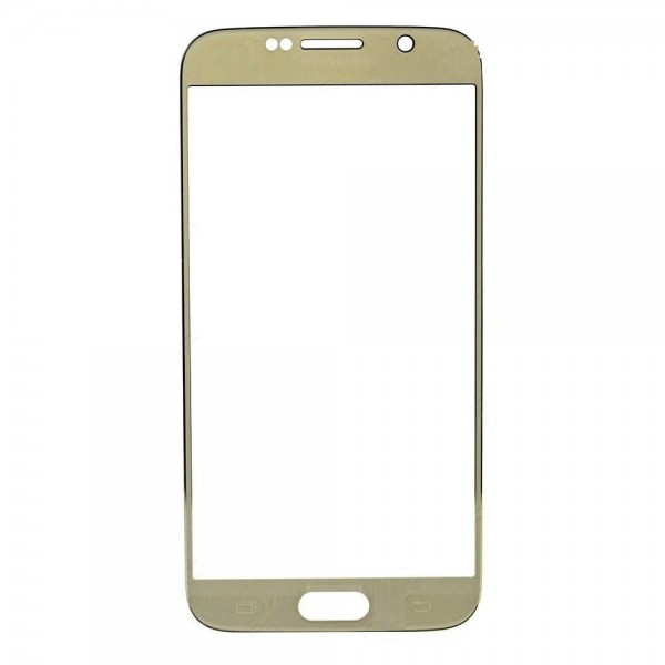 Samsung Galaxy S6 Front Glass Lens - Gold