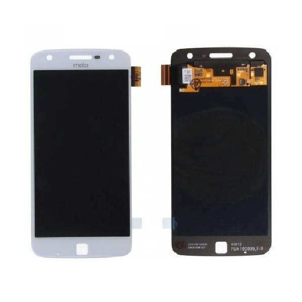 MOTO Z Play LCD Screen and Digitizer Assembly - White