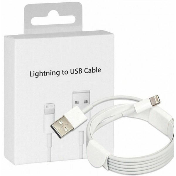 2M Apple Lightning USB Charger Lead Cable For iPhones/iPads/iPods