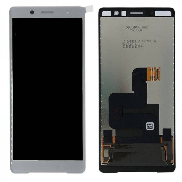 Sony Xperia XZ2 Premium LCD Screen and Digitizer Assembly - Silver - Original 1310-6654