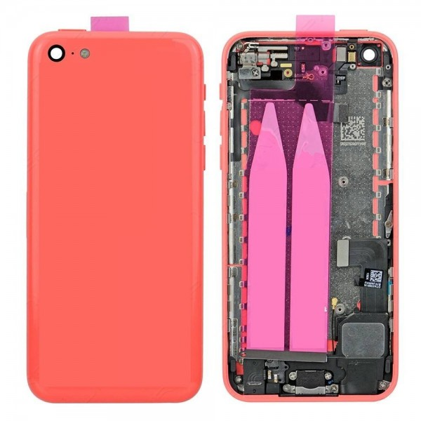 iPhone 5C Back Cover Full Assembly - Pink