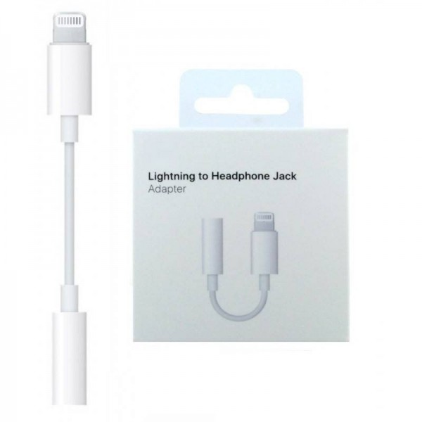 iPhone Charger Cable And Headphone Audio Splitter Adapter